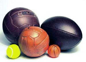 Piłki Retro z nadrukiem