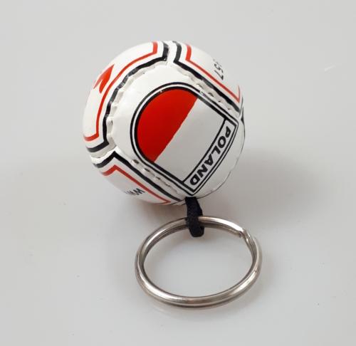 Brelok piłka nożna PU POLSKA