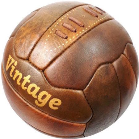 Piłka retro z nadrukiem