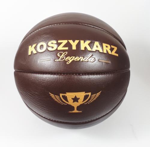 Piłka koszowa retro basketball