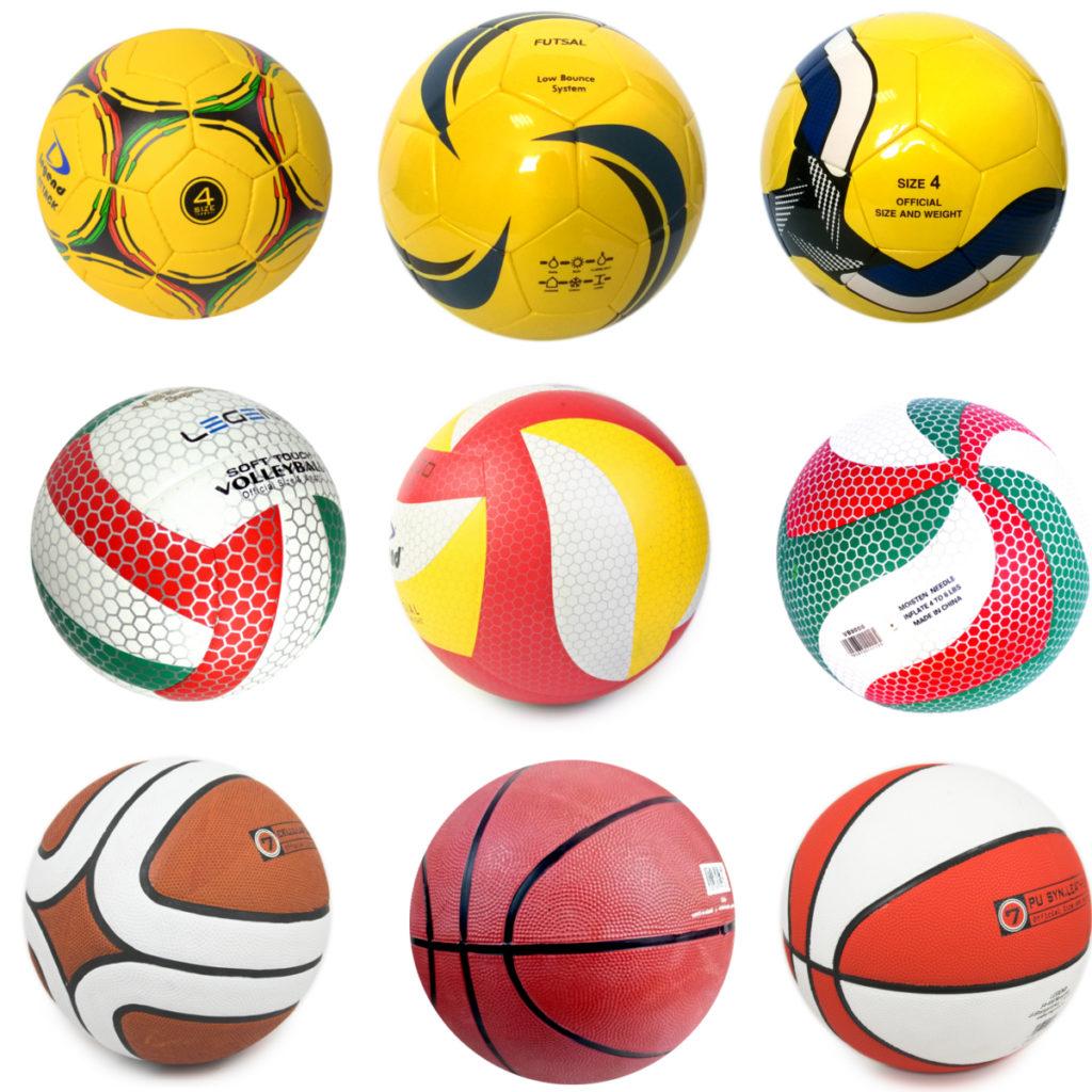 Piłko sportowe z nadrukiem