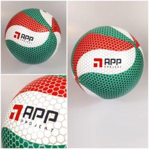 Piłka siatkowa z nadrukiem